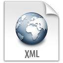 file, document, paper, xml icon