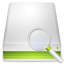 search,hard,disk icon