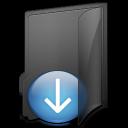 download, fall, down, descend, folder, decrease, descending icon