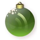rss, christmas, green, subscribe, feed icon