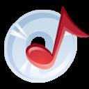 Cd, Music icon