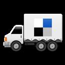 Del, Social, Truck icon