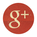 Gplus, Retro, Rounded icon
