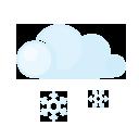 Day, Lightcloud, Sleet icon