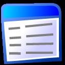 view text icon