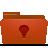 red, idea, folder icon