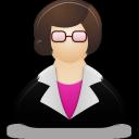 Female, Teacher icon