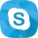 online conversation, char, skype, social network icon