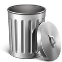 Empty, Metal, Trash icon