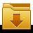 Arrow, Down, Download, Downloads, Folder icon