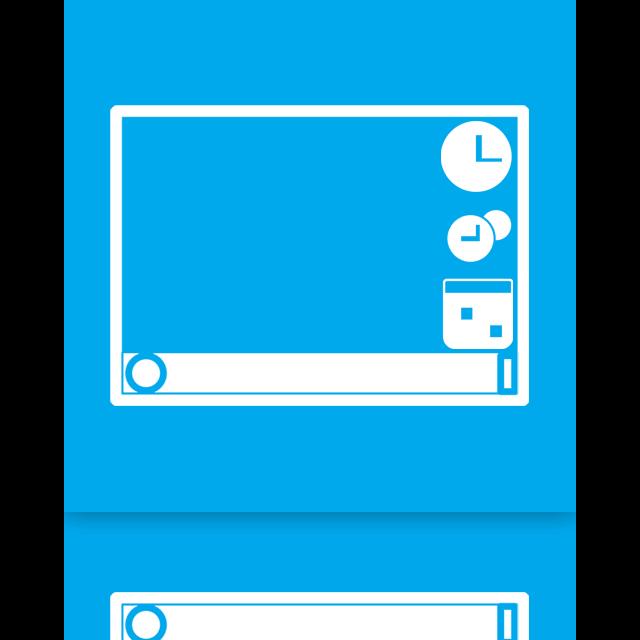 mirror, gadgets icon