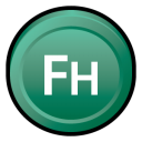 Adobe hand CS 3 icon
