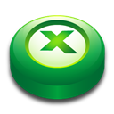 Excel, Microsoft, Office, Puck icon