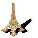 tower, paris, eiffel, france icon