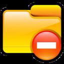 Folder Delete icon