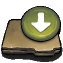 box, drop icon