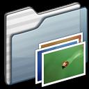 Folder, Graphite, Wallpaper icon