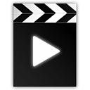 clapperboard, movie, play, film, video icon