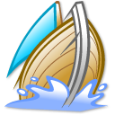 galeon, ship, sail, boat icon