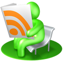 news, read, feed, source, vert, subscribe, verdancy, rss, reader, newspaper icon