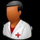 Dark, Male, Nurse icon