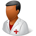 nurse, male icon