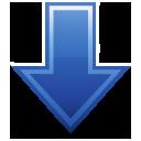 download, arrow, down icon