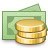 currency, cash icon