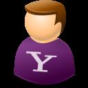account, yahoo, profile, web, human, user, people icon