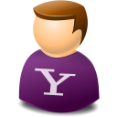 texto, User, Web, Yahoo icon