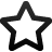 blank, star, empty, favourite, fav, bookmark icon