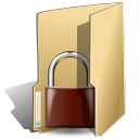 locked, security, folder icon