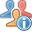 Information, Users icon