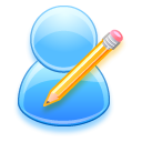edit,user,write icon