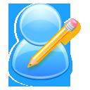 writing, account, write, human, edit, people, profile, user icon