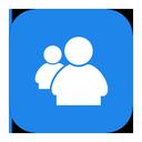 metroui, messenger, live icon