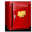 note, postit, locker icon