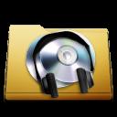orange, music, try, folder icon
