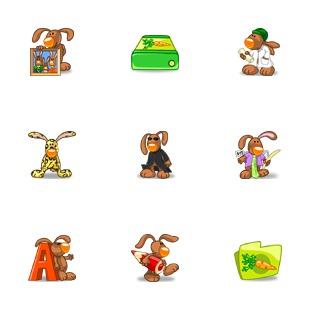 Rabbit XP icon sets preview