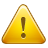 triangle, exclamation mark, alert, exclamation, warning, sign, caution icon