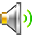 audio,volume,medium icon