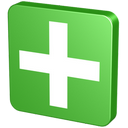 vert, supplement, throw in, tack, add, verdancy, create, button, plus, knob, add to, pin, cross, tag, append, snap, green, netvibes icon