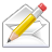 Mail, Write icon