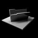 folder,empty,blocked icon