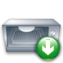 Down, Oven icon