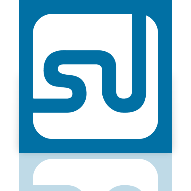 mirror, stumbleupon icon
