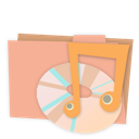Alt, Carton, Folder, Music icon