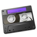 Cassette Purple icon