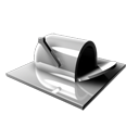 blocked, mail box icon