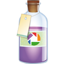 Bottle, Picasa icon